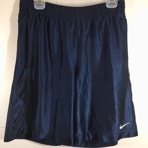 Nike Mens Shorts Large Blue Stretch Athletic